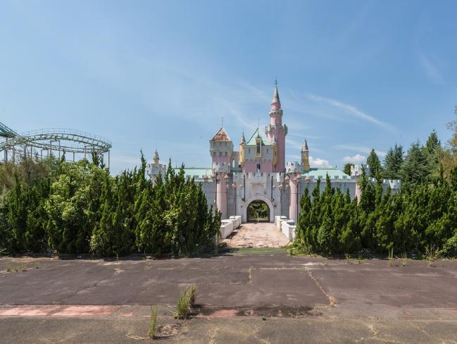 Nara Dreamland, the creepiest abandoned theme park in Japan. Picture: Romain Veillon